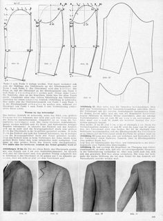 Cutter and Tailor forum discussion on ease on tailored sleeves
