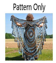 Stevie Nicks Bohemian Vest Crochet Pattern