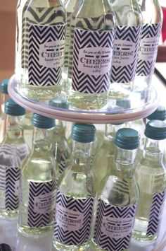 Cute/Perfect Bridal Shower Favors if you ask me.... #bridal #shower #wine