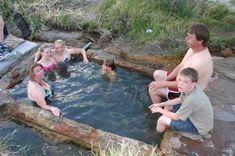 Baker Hot Springs Delta Utah - Utah Outdoor Activities