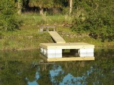 My Backyard: We Built our own Floating Dock