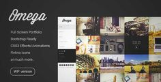 Download and review of Omega - Minimal WordPress Theme, one of the best Themeforest Magazine & Blogs themes {Download & review at|Review and download at} {|-> }http://best-wordpress-theme.net/omega-minimal-download-review/