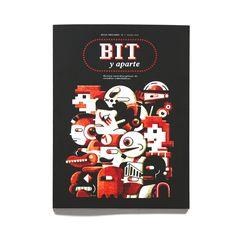 """Portada para la revista sobre videojuegos """"Bit y Aparte"""""""