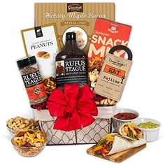 If they can't get enough of the sweet, savory, tangy, smoky goodness that is all things barbeque, you've just found the perfect gift. This impressive gift basket is comprised of the best grilling products, like authentic fiery sauces and deliciously zesty rubs, supplying them with... more details available at https://perfect-gifts.bestselleroutlets.com/gifts-for-holidays/grocery-gourmet-food/product-review-for-gourmetgiftbaskets-the-barbecue-boss-gift-basket/