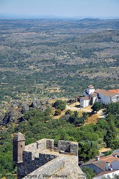S.Mamede Natural Park view from Marvao castle by Portuguese_eyes, via Flickr  #Portugal  #travel