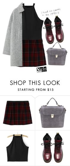 """""""#SheIn"""" by credentovideos ❤ liked on Polyvore featuring Naf Naf and MANGO"""
