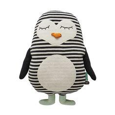 """OYOY Penguin """"Pingo"""" Cushion"""