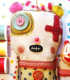 Monster Rag Dolls with Junker Jane