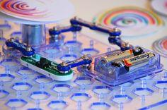 Snap Circuit Spin Art Machine 2