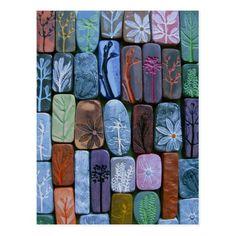 Nature Tiles Postcard