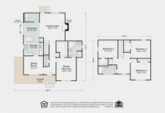 1000 images about two story home floor plans on pinterest for Madison home builders house plans