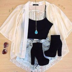 casual jean outfits for summer Teenage Outfits, Teen Fashion Outfits, Mode Outfits, Cute Fashion, Outfits For Teens, Girl Outfits, Fashion Ideas, 90s Fashion, Cute Diys For Teens