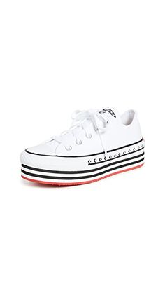 Converse Chuck Taylor All Star Lift Sneakers | SHOPBOP Dad Sneakers, Casual Sneakers, Leather Sneakers, Converse Classic, Converse Style, Converse Shoes, Converse Chuck Taylor All Star, Chuck Taylor Sneakers, Suede Shoes