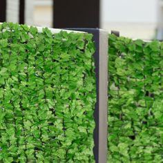 Amazon.de: Blumfeldt Fency Dark Ivy Sichtschutzzaun Windschutz Windfang für Geländer und Zäune (300x100 cm, Efeu, Kunststoff-ummanteltes Gitternetz 6 x 6 cm Maschenweite) hell-grün