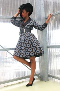 African Ankara dress Click here>> http://www.dezangozone.com/ for latest Ankara Styles and Africa Clothing
