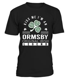 ORMSBY Original Irish Legend