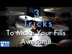 In today's drum lesson we're learning 3 tricks that will make your drum fills awesome! Drum Solo, Drum Music, Bass Guitar Lessons, Music Lessons, Bodhran Drum, Drum Rudiments, Drum Tuning, Drums Wallpaper, Drum Lessons For Kids