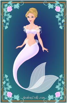 Cinderella Mermaid by AidaPascal999.deviantart.com on @deviantART