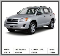 2010 Toyota RAV4 Limited SUV  Pass-Through Rear Seat, Tire Pressure Monitor, Child Safety Locks, Cd Player, Passenger Air Bag, Stability Control, 4-Wheel Disc Brakes, Rear Spoiler, Engine Immobilizer, Automatic Headlights, Keyless Start, Keyless Entry, Conventional Spare Tire, Abs, Front Head Air Bag, Power Door Locks, Driver Vanity Mirror, Four Wheel Drive