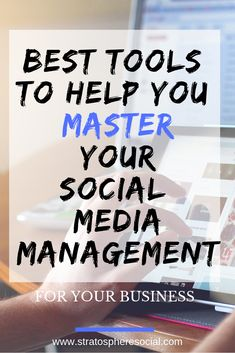 The best tools to help you manage your social media and up your productivity and online organization! You owe it to your entrepreneur self and your  business to check these out right now! #businesstips #socialmediamanagement