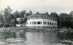 Marenisco Michigan~Weber's Resort~Lake Gogebic~1950s Real Photo~RPPC /// Love this lake.. #Michigan#History#Legends#and#Folklore