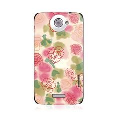 Roses HTC One X/XL Case