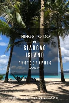 For the long May weekend we have decided to spend our time in Siargao Island. The most beautiful place that I have ever seen. Paradise in my eyes. Let me take you for a journey around this island to show you what you can do in Siargao. Siargao Philippines, Stuff To Do, Things To Do, Siargao Island, Short Trip, What You Can Do, Plan Your Trip, Asia Travel, Day Trip