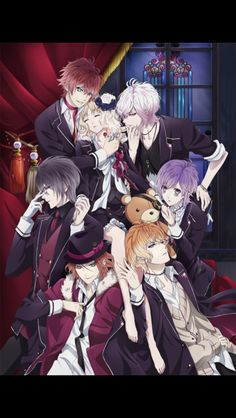 Diabolik lovers, this is one fucked up anime (didn't play the game). First of all, I kind of enjoyed the first half of this with high hopes about the plot being somewhat interesting only for those hopes to crushed by the end of it due to heaps of ill explained plot points. Yui is a doormat. Lacking character development across all characters. Some of the only enjoyable things about this anime is the music and how attractive the guys are along with a few other interesting traits.