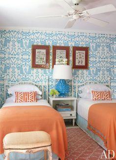 Beach Bedroom, Lyford Cay Club, Bahamas - Andrew Raquet
