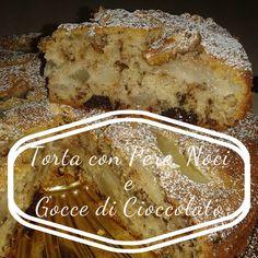 Io e mia moglie abbiamo realizzato questa torta :) ragazzi emana un profumo per casa che di colpo ti fa credere di essere in pieno autunno... questa torta non è un semplice dolce, è uno stato d'animo, è voglia di coccole... E' facile, veloce e ricca di prodotti genuini! :) #Torta con pere, noci e gocce di cioccolato fondente :)  Qui trovate la ricetta completa: http://www.blogpugliagourmeet.it/2015/09/torta-pere-noci-cioccolato-ricetta-veloce.html  Qui il video su Youtube…