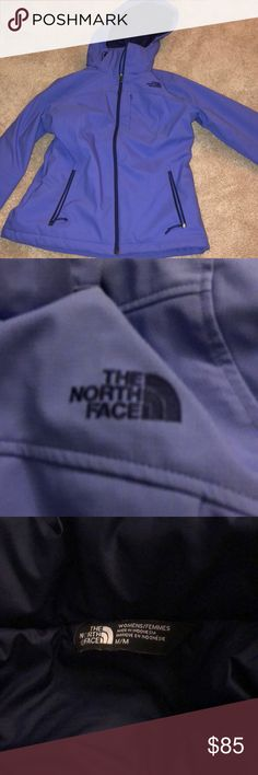 Purple north face jacket medium Women's medium north face jacket. Perfect for snow as rain. Was a christmas gift and received without tags so couldn't exchange for correct size. Found jacket for around $200 online. Brand new so great deal! North Face Jackets & Coats Puffers