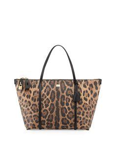 Dolce   Gabbana Escape Leopard-Print Zip Tote Bag 8dc5f8c560923