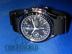 Brand: OMEGA  Model: Speedmaster Automatic DAY-DATE  Strap: NATO(Black 18mm)  Owner: T.U.(Tokyo,Japan)  Purchase this Strap at:   http://www.chronoworld.com/watch-straps-bands/nato-g10-type/nato-g10-watch-strap-band-16mm-18mm-20mm.html    #watchstraps #watchstrap #nylonstrap #timepieces #chronoworld #watches
