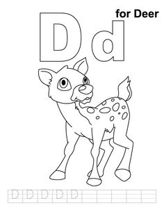 free zoo phonics coloring pages - photo#3