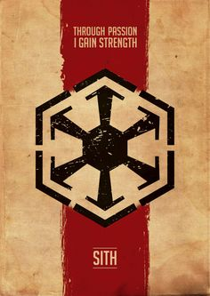 Star Wars Poster Star Wars Inspired Sith by GraphicNinja on Etsy