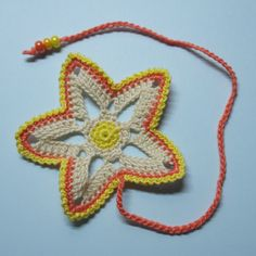 Make a Cute Crocheted Star Bookmark with @guidecentral