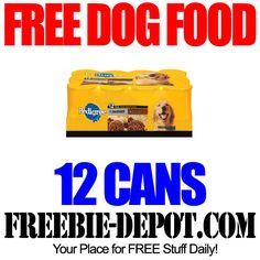 12 FREE Cans of Dog Food at Walmart - Exp 8/26/14