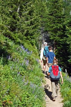 Hiking and Backpacking with Kids? Check out a few tips! #GetKidsOutisde #Nature