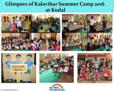 #GlobalFoundation  Key Events at Kalavihar Summer Camp at Pinguli April 2016 •Session on reuse of newspaper •Yoga Session •Dance Session followed with playing Tabla and Harmonium •Drawing and Painting Session (ancient rural Varli Painting) •Visit to College of Horticulture and fishery plants •Games and activity on team building and Concentration •Session on First Aid in case of accident/electric shock •At last was the Certificate Distribution to participants by honorable guest