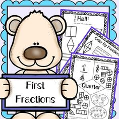Fraction Worksheets - Half, Third, Quarter. This is a set of worksheets about first fractions, they cover half, quarter and third. An Excellent Resource for Kindergarten or Grade One.There are 14 Pages TotalThese IncludeColor half of each shapeColor third of each shapeColor quarter of each shapeColor by fraction x 3Cut and sort the fractions x 3Label the denominatorCut the shape according to the fractionHalf worksheetThird worksheetQuarter worksheetAll worksheets are well varied and easy to ...