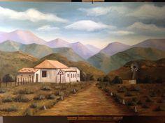 Landscape in Oil by Anna Lamprecht