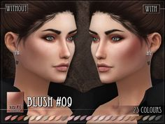 The Sims Resource: Blush 09 by RemusSirion • Sims 4 Downloads
