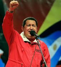 Hugo Chávez , presidente bananero de venezuela
