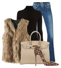 66 ideas for heels outfits shoes Fur Vest Outfits, Heels Outfits, Mode Outfits, Chic Outfits, Fashion Outfits, Fashion Trends, Shoes Heels, Leopard Heels Outfit, Fashion Ideas