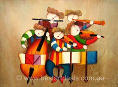 100% Hand Painted Museum Quality Kids oil Paintings. http://bestartdeals.com.au