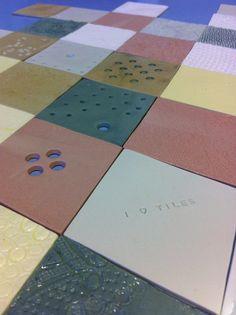 I love tiles text in diamond shaped green tile #diamonshape #diamond #triangle #tiles #pastel #design #bathroom #textiles #transparant #white #translucent #porcelain #textiles #wall #decoration #led #imprint #relief #barbaravos #wallcovering #kitchen #shower #home #interior #design #glaze #backsplash #flower #pattern #coral #fabric #lace #texture