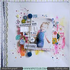 Have white space on or near your photo? Create an eye-catching embellishment cluster together with some mixed media just as designer @flisw has so beautifully created using the #april2017 #hipkits!  @hipkitclub #hipkitexclusives #hkcexclusives #exclusives #hipkit #hipkitclub #mixedmedia #clusters #coloraddonkit #colorkit @vickiboutin #artcrayons @pinkpaislee #ohmyheart #scrapbooking #scrapbooklayout #papercrafting #kitclub #scrapbookingkitclub #colors #layers #dimension
