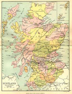 Die 234 besten Bilder von Scotland Map s