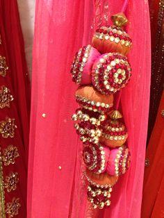 Creative handcrafted tassels by VARIJA Design Studio Diy Tassel, Tassel Jewelry, Saree Tassels, Thread Bangles, Wedding Function, Passementerie, Craft Work, Traditional Dresses, Blouse Designs