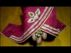Silk saree sleeve cutting and stitching Stitching Classes, Petal Sleeve, Silk Sarees, Make It Yourself, Youtube, Blog, Sleeves, Crafts, Dresses